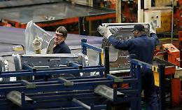 Industria, crollano fatturato e ordini