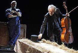 ''Verdi, narrar cantando'' di Marco Paolini e Mario Brunello
