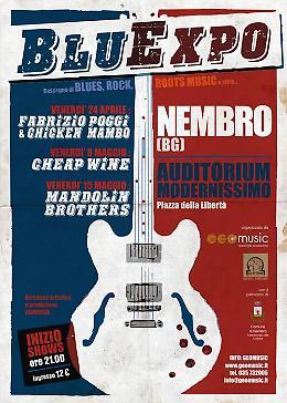 BluExpo 2015: rassegna di Blues, Rock, Roots Venerdì 15 i Mandolin Brothers