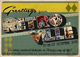 Un intero weekend dedicato al Vintage  alla villa Mazzucchelli