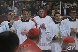 Chierichetti per papa Francesco