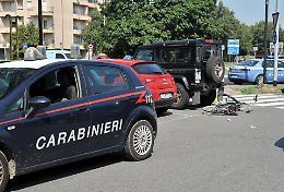 Investito dall'auto dei carabinieri