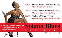 """12^ edizione del  """" Soiano Blues Festival"""""""