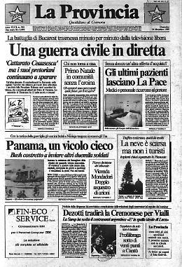 """Una guerra civile in diretta - Gli ultimi pazienti lasciano """"La Pace"""" - Dezotti tradirà la Cremonese per Vialli"""