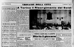 A Torino il Risorgimento dei Soldi