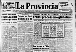 I russi processano gli italiani
