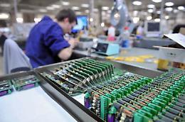 Industria elettronica, ad aprile fatturato -42,6%