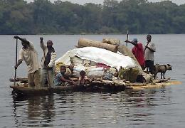 60 morti, centinaia dispersi fiume Congo