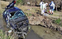 Gravissimo incidente stradale sulla Melotta