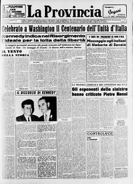Il Centenario dell'Unità d'Italia celebrato a Washington