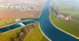 Canale navigabile: pronti un miliardo e 700 milioni