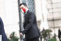 """Governo, Salvini """"Letta non deve provocare quotidianamente"""""""