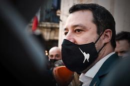 """Covid, Salvini """"A maggio si ritorna alla vita senza coprifuoco"""""""