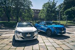 Peugeot e-208 e SUV e-2008, il futuro della mobilita' elettrica