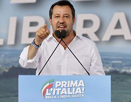 "Lega manifesta a Roma, Salvini ""Il centrodestra deve unirsi"""