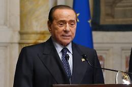 """Centrodestra, Berlusconi """"Il partito unico non è una fusione fredda"""""""