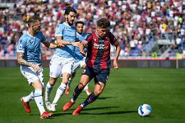 Bologna travolgente al Dall'Ara, Lazio battuta 3-0