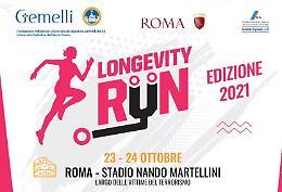 """Torna a Roma la """"Longevity Run"""", la corsa della salute"""
