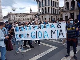Festa Inter, il prefetto: chiudere sarebbe stato peggio