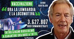 Vaccini: Bertolaso, ora la Lombardia è la locomotiva
