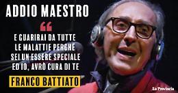 E' morto il cantautore siciliano Franco Battiato