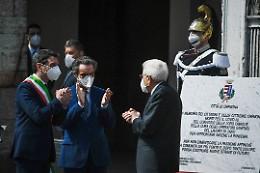 Fontana in piazza del Comune: «Incontro tra memoria e futuro»