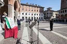 Galimberti: «Presidente, la sua presenza è fonte di gioia per me, per la città e la provincia»