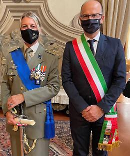 Il colonnello Paola Gori cavaliere al merito della Repubblica