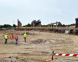 Ex Ferriera: sopralluogo dove sorgerà il sottopasso