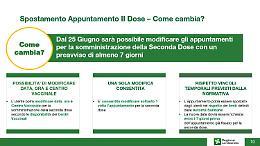 Vaccinazioni, Bertolaso: dal 25 giugno sarà possibile spostare il richiamo
