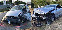 Scontro fra due auto: paura e tre feriti