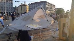 Assalto a gazebo: due No vax indagati a Milano. Di Maio: vile aggressione