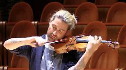 """David Garrett al Museo del Violino: """"Qualità altissima"""""""