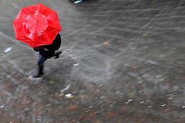 Rischio di temporali anche di forte intensità
