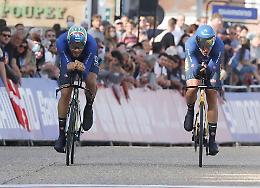 Marta Cavalli è bronzo con l'Italia nella cronostaffetta mista
