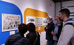 Fumetto protagonista al Museo Diotti