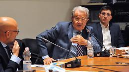 """Prodi a Crema: """"Assalto alla Cgil, scene criminali: serve una risposta severa"""""""