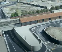 Crema, il sottopasso alla ferrovia collegato all'area ex Olivetti