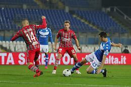 Il derby è del Brescia, la Cremonese va ko 1-0