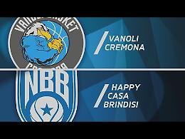 VIDEO Highlights del match tra Vanoli e Brindisi