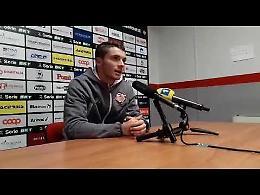 VIDEO Cremonese-Empoli 1-0, Palombi: 'Contento della mia prova e della squadra'