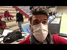 VIDEO Vanoli-Brindisi: il primo tempo finisce 45-45