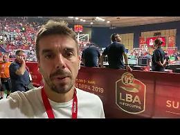 VIDEO Supercoppa, Vanoli-Brindisi: il commento