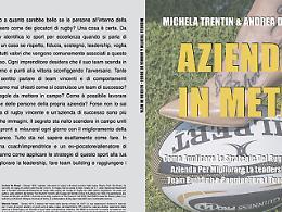 """Comunicato Stampa: Michela Trentin e Andrea De Rossi lanciano """"Azienda In Meta"""":  subito Bestseller"""