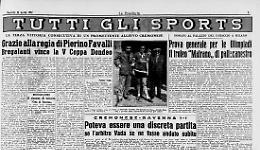 La V Coppa Dondeo
