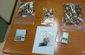 Controllo anti-droga dei Cc, un arresto