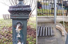 Nuovo raid dei vandali al parco di Cascine
