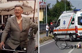 Tragico incidente moto-bici: una vittima