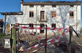 Esplosione in casa, il 52enne salvato dai carabinieri