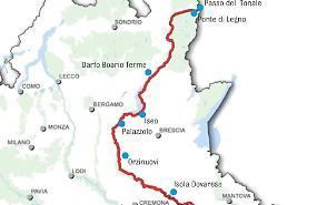 La più bella d'Italia, premio alla ciclabile dell'Oglio